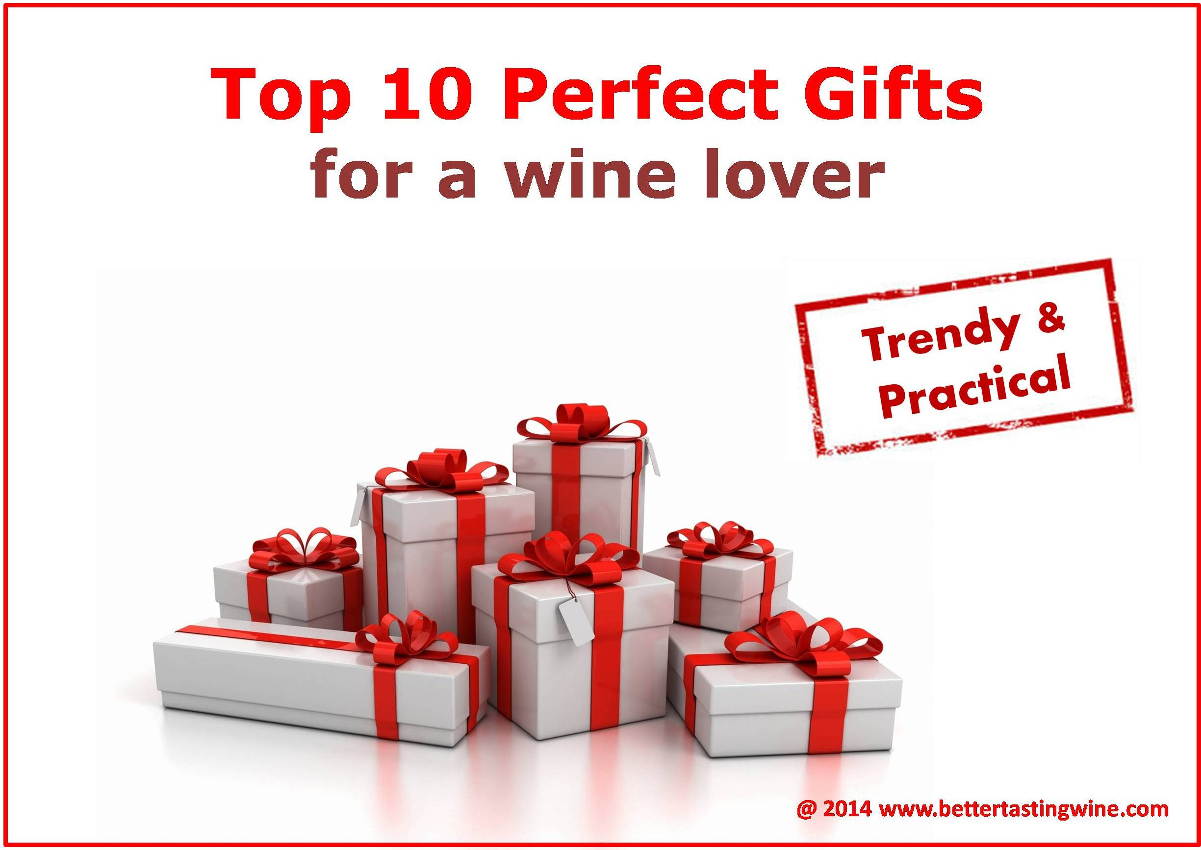 Top Ten Must-Have Wine Gifts for Wine Lovers