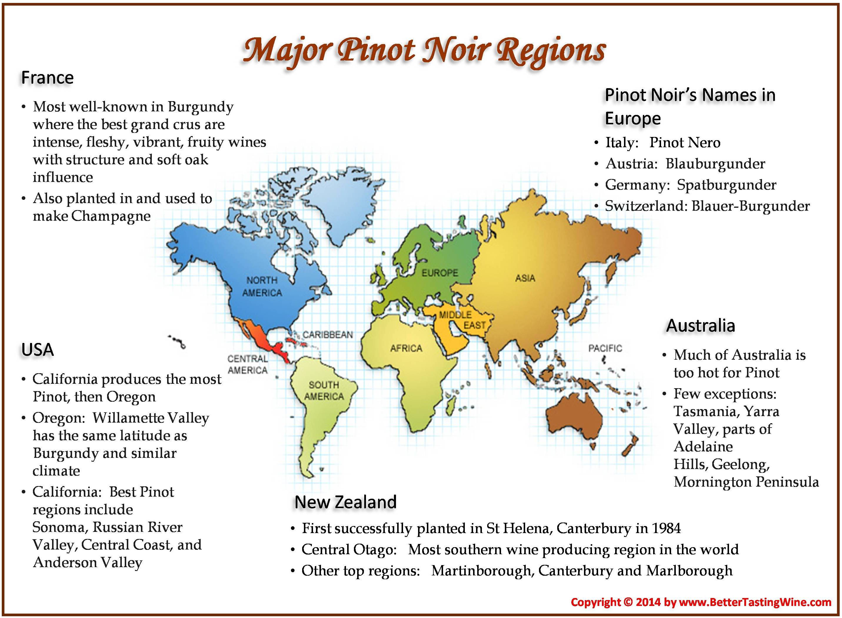 BetterTastingWine: Burgundy vs New World Pinot Noir Tasting ... on world history map, world map regions of the world, sonoma wine region map, south africa wine region map, hungary wine region map, world wine production map, world regions realms map, geography world regions map, world best red wine, world food map, world europe map, 49th parallel on map, california wine map, world new zealand map, world vintage map, world cultural regions map, world oregon map, world soils map, germany wine region map, world fashion capitals map,